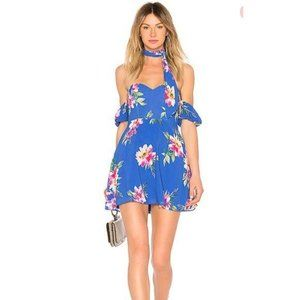 NWT Privacy Please Bluebell Floral Mini Dress
